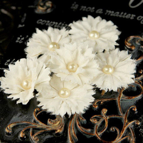 Prima - Innocence 2 Collection - Flower Embellishments - Mix 6, CLEARANCE