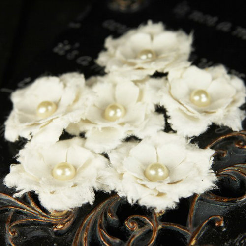 Prima - Innocence 2 Collection - Flower Embellishments - Mix 15