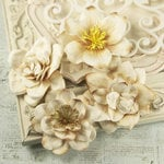 Prima - Eminence Collection - Flower Embellishments - Mix 4