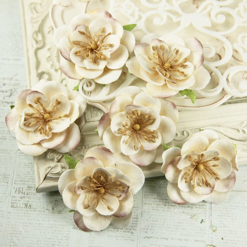 Prima - Eminence Collection - Flower Embellishments - Mix 7
