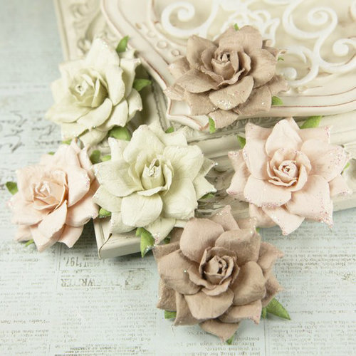 Prima - Arcadian Collection - Flower Embellishments - Blush