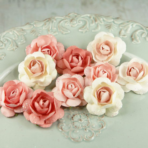 Prima - Angelica Rose Collection - Flower Embellishments - Jewel