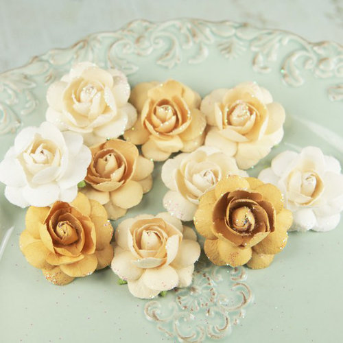 Prima - Angelica Rose Collection - Flower Embellishments - Dreamy