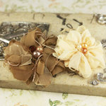 Prima - The Gatsby Collection - Fabric Flower Embellishments - Reception