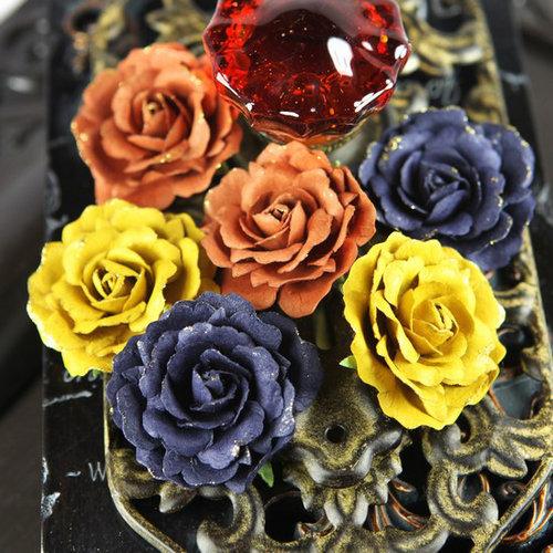 Prima - Treasure Rae Collection - Flower Embellishments - Venice, CLEARANCE