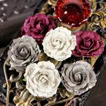 Prima - Treasure Rae Collection - Flower Embellishments - Georgia