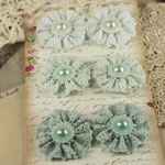 Prima - Classic Lace Collection - Fabric Flower Embellishments - Appenzell