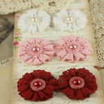 Prima - Classic Lace Collection - Fabric Flower Embellishments - Ayershire