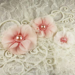 Prima - Millinery Collection - Fabric Flower Embellishments - Berries