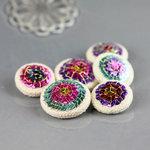 Prima - Shalimar Collection - Bling - Flower Center Embellishments - Amia