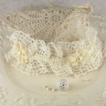 Prima - Mire Court Collection - Trim Embellishments - Sugar Drop, CLEARANCE
