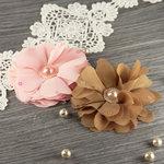 Prima - Matriarch Collection - Fabric Flower Embellishments - Coretta