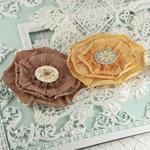 Prima - Via Flaminia Collection - Flower Embellishments - Caramella