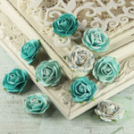 Prima - Floret Collection - Flower Embellishments - Thyme, CLEARANCE