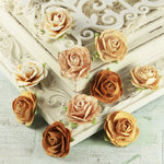 Prima - Floret Collection - Flower Embellishments - Sunshine