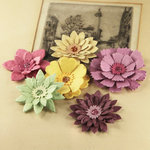 Prima - Dollhouse Collection - Flower Embellishments - Marilee