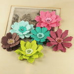Prima - Dollhouse Collection - Flower Embellishments - Tuesday, CLEARANCE