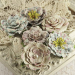 Prima - Paloma Collection - Flower Embellishments - Celebrate Jack and Jill