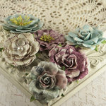 Prima - Paloma Collection - Flower Embellishments - Botanical