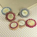 Prima - Gianna Collection - Fabric Flower Embellishments - Botanical