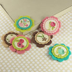 Prima - Gianna Collection - Fabric Flower Embellishments - Madeline
