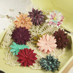 Prima - Marri Collection - Flower Embellishments - Melody