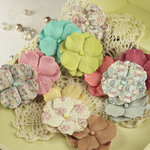Prima - Marri Collection - Flower Embellishments - Celebrate Jack and Jill