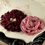 Prima - Dechire Collection - Fabric Flower Embellishments - Dorea, BRAND NEW