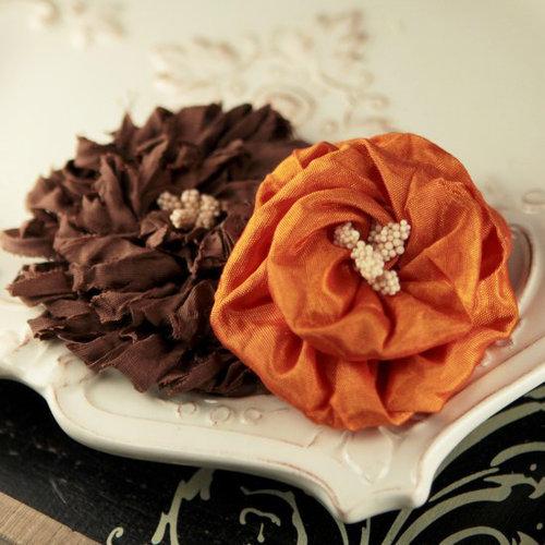 Prima - Dechire Collection - Fabric Flower Embellishments - Capucina