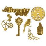Prima - Vintage Trinkets Collection - Metal Embellishments - Antique Brass Mix 2