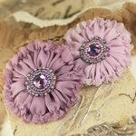 Prima - Regent Collection - Fabric Flower Embellishments - Victoria