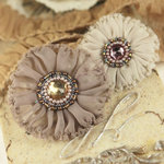 Prima - Regent Collection - Fabric Flower Embellishments - Fitzroy