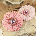 Prima - Regent Collection - Fabric Flower Embellishments - Rathbone