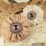 Prima - Regent Collection - Fabric Flower Embellishments - Alder