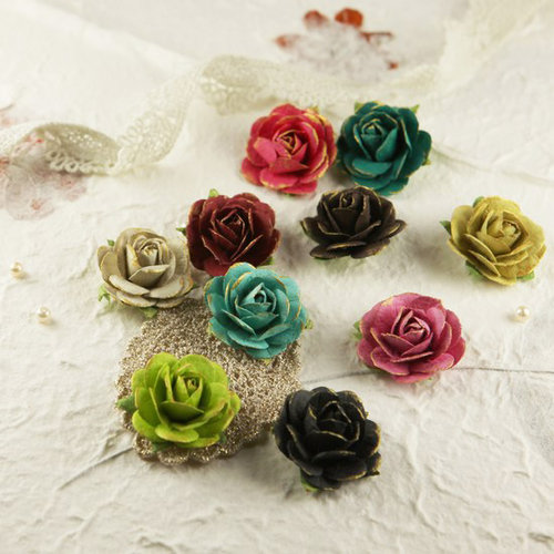 Prima - Sugar Blooms Collection - Flower Embellishments - Madeline
