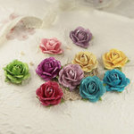 Prima - Sugar Blooms Collection - Flower Embellishments - Sweet Fairy, BRAND NEW