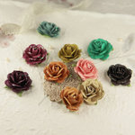 Prima - Sugar Blooms Collection - Flower Embellishments - Reflections, CLEARANCE