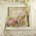 Prima - Summer Carnation 2 Collection - Flower Embellishments - Pinck