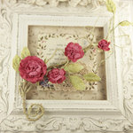 Prima - Summer Carnation 2 Collection - Flower Embellishments - Rosette