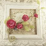 Prima - Summer Carnation 2 Collection - Flower Embellishments - Rosette