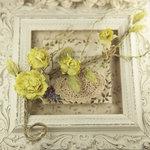 Prima - Summer Carnation 2 Collection - Flower Embellishments - Lemon