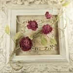 Prima - Summer Carnation 2 Collection - Flower Embellishments - Grape