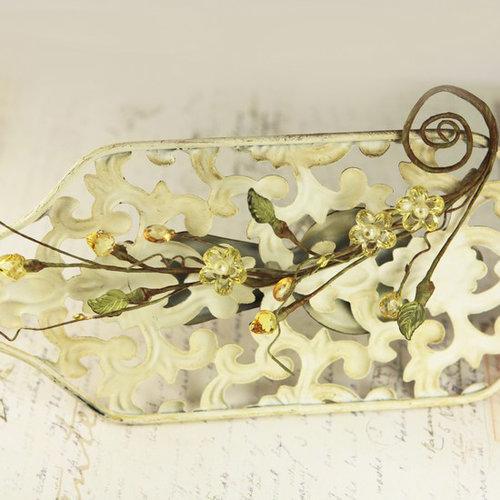 Prima - Cinderella Collection - Vine Border - Crown