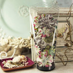 Prima - Essentials 10 Collection - Flower Embellishments - Madeline, BRAND NEW