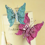 Prima - Butterfly Kiss Collection - Butterfly Embellishments - Sweet Fairy