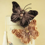 Prima - Butterfly Kiss Collection - Butterfly Embellishments - Back Stage