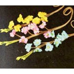 Prima - Aire Collection - Flower Embellishments - Mix 3