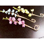Prima - Aire Collection - Flower Embellishments - Mix 5