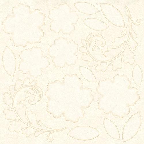 Prima - Mistable Collection - 12 x 12 Canvas Sheet - Floral Mix 1