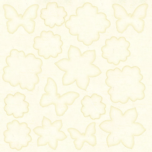 Prima - Mistable Collection - 12 x 12 Canvas Sheet - Floral Mix 2